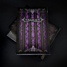 Artifice Second Edition V2 deck Purple Ellusionist Bicycle  Playing Cards violet