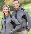 REEBOK Premium Men's Full-Zip Soft Shell PlayShield Fleece Jacket 7208 New!!