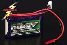 Nano-Tech 850Mah 2S 7.4v  25C - 40C Lipo Pack - UK seller - Fast delivery