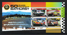 AUSTRALIA 2012 CAR RACING AT BATHURST MINIATURE SHEET UNMOUNTED MINT,MNH