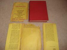 GAZOOKA AND OTHER STORIES - Thomas, Gwyn 1957 HB