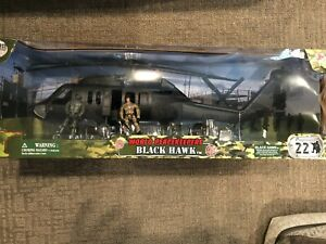 *NEW* 1/18 BLACK HAWK Helicopter World Peacekeepers works w/ 21st Century Toys