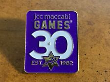 2012 JCC Maccabi Games Olympic Pin