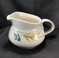 Vintage Franciscan Autumn Leaves Small Cream Pitcher Earthenware MCM