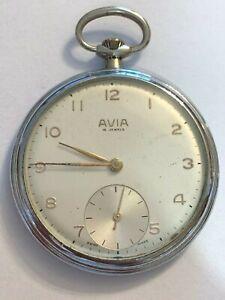 Orologio da tasca Pocket watch AVIA movimento SHR 4152