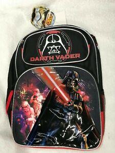 "Backpack 16"" Disney Star War Darth Vader 5945 In stock"