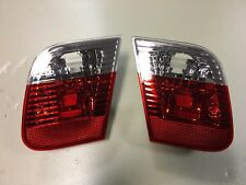 Rear Inner Tail Lights Lamps LEFT and RIGHT BMW 3 Series E46 2002 - 2005 SALOON