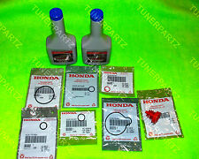 -9 PC KIT- NEW GENUINE HONDA POWER STEERING FLUID PUMP O RING GASKET SEALS SET