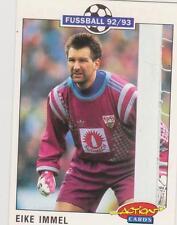 Panini Fussball 92-93 Action Cards #212 Eike Immel VFB Stuttgart