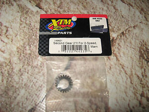 Vintage RC XTM Racing 21 Tooth Second Gear 2 Speed (1) 149821