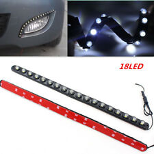 18LED Daytime Lamp White Car Hawkeye Driving Fog Lamp DRL Daytime Running Lights