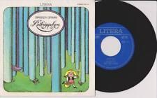 """BRÜDER GRIMM Rotkäppchen 7"""" Vinyl Single Kinder LITERA Märchen 1975"""