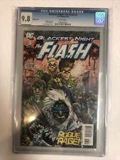Blackest Night Flash (2010) # 3 (CGC 9.8 WP) Geoff Johns   Variant Cover