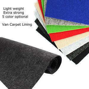Auto Carpet Camper Wall Lining Floor Underlay Felt Fit Majority of Vehicle Trim