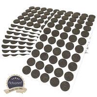 500 x Filzgleiter | Ø 20 mm | Braun | rund | 3.5 mm starke selbstklebende Filz-M