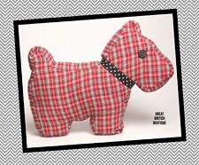 Super Scottie Dog Retro/Vintage Style Cushion by Sass & Belle! - with Inner