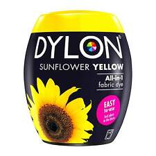 Dylon Textilfarbe Sunflowers Yellow Color and Fixer for 600g Fabric Fabric Dye