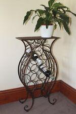 ON SALE!!!! Antique Style Decorative Metal Framed Wine Rack