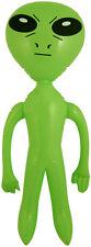 Inflable Explotar Verde Hombre Alien 64cm Novedad Party Prop