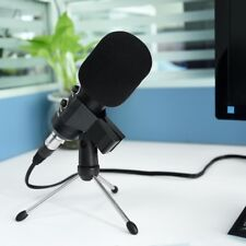 Condenser Microphone USB Power Supply Audio Studio Sound Recording Tripod Stand