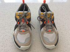 Ecco Biom C-Trail Men's hiking shoe Size 42 8-8.5 Grey/Gold/White New+box