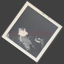 Unusual Vintage Photo Black Man & White Shirt in Dark at Dutch Angle 666212