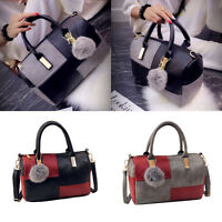 New Designer Ladies Womens Fashion Leather Tote Shoulder Handbag Messenger Bag#