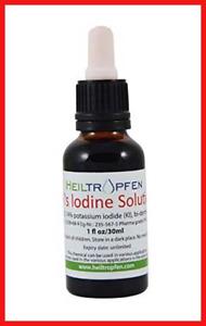 7% Lugol's Iodine Solution 1 Oz. - 30 ml. Made with 7 Percent Iodine and 14%