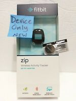 Fitbit  Zip New DEVICE ONLY Wireless Activity Tracker - Black Genuine Fit bit