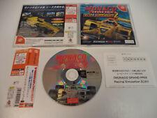 Sega DreamCast MONACO Grand Prix 2 racing import Japan DC w/spine card US Seller