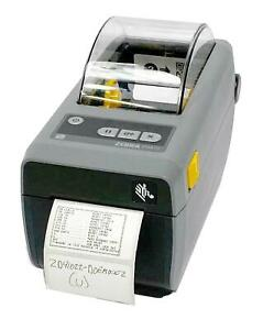 Zebra ZD410 ZD41022-D0EM00EZ Direct Thermal Barcode Label Printer USB 203DPI