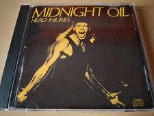 MIDNIGHT OIL - Head Injuries CD New Wave / Alternative Rock