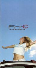 Fiat 500 C 2009 UK Market Launch Sales Brochure Pop Lounge 1.2 1.4 1.3 Multijet