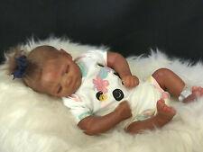 Reborn Doll  Hand made item full limbs COA Jennie Asleep 19'' 5lbs