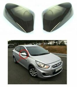 Without LED Side Mirror Cover 2p for 2011 2017 Hyundai Accent Solaris i25