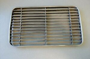 USED ORIGINAL GENUINE PORSCHE 356 356A COUPE FLAT ENGINE LID GRILL NLA FIRE 5