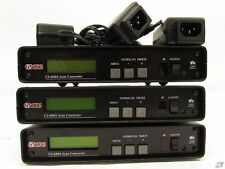 TVONE CS-600A DIGITAL VIDEO SCAN CONVERTER HIGH RESOLUTION 1600 X 1200 WRK GREAT