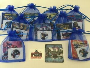 Transformer Pre Filled Gift Bag, Party Filler, Autobot, Bumblebee, Tattoo