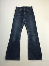 Men's Levi 516 'Flared' Jeans - W27 L32 - Navy Wash - Great Condition