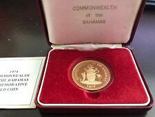 Bahamas Coins: World Bahamas 1995 Bahama Parrot $10 Gold Ngc Pf69 Ultra Cameo Last Style