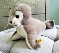 "Steiff Robby Seehand Baby Seal Cub 063114 LARGE 15"" plush stuffed sea animal"