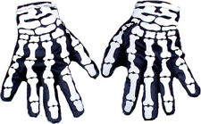 Morris Costumes Glove Skeleton Accessories & Makeup Not Glow One Size. BA26