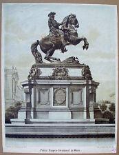 Prinz Eugen Denkmal Wien Belgrad Türken Osmanen Sultan Türkenkrieg Savoyen