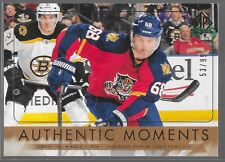 16/17 SP Authentic Moments Gold Jaromir Jagr /99 101 Panthers