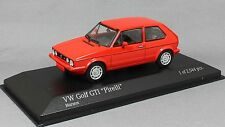 Minichamps Volkswagen VW Golf Mk1 GTi in Mars Red 400055170 1/43 NEW Ltd Ed 2544