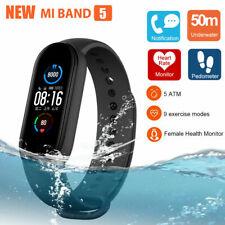 Xiaomi Mi Band 5 AMOLED Smart Fitness Watch Heart Rate Monitor 5ATM USA Shipping