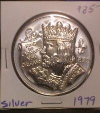 1979 .999 Silver Rex Doubloon - Mardi Gras