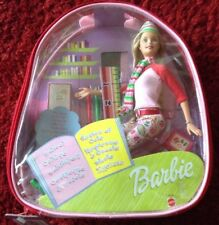 BARBIE DOLL SCHOOL COLLEGE NEW/SEALED IN CLEAR BACKPACK QUITE RARE