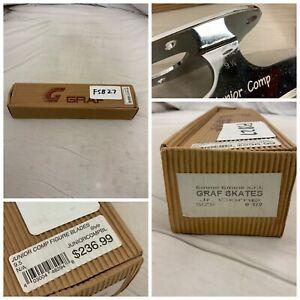 Graf Figure Skating Blades Junior Sz 9.5 Made In Italy NWT $240 YGI O1-BL2
