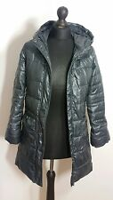GAP Girls Jacket Sz XL Extra Large Puffer Metallic Padded Hooded Outerwear Coat
